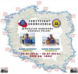 DYPLOM Z ROWERAMIwspolny