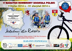 plakat dookoła polski 2014